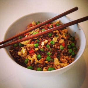 imageegg fried quinoa